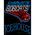 Icehouse Charlotte Bobcats NBA Neon Beer Sign