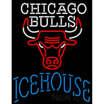 Icehouse Chicago Bulls NBA Neon Beer Sign