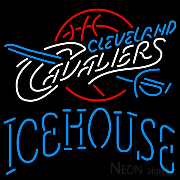 Icehouse Cleveland Caveliers NBA Neon Beer Sign