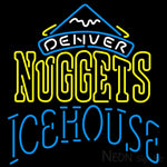 Icehouse Denver Nuggets NBA Neon Beer Sign