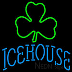 Icehouse Green Clover Neon Beer Sign 24x24