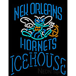 Icehouse New Orleans Hornets NBA Neon Beer Sign