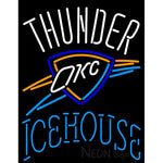 Icehouse Oklahoma City Thunder NBA Neon Beer Sign