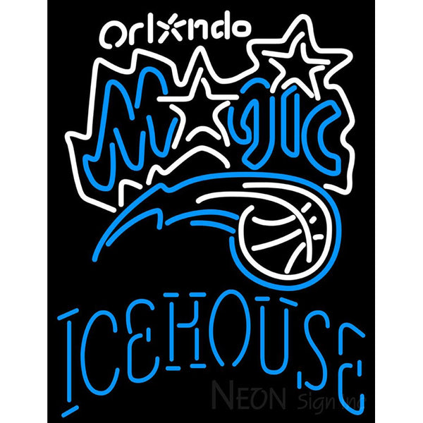 Icehouse Orlando Magic NBA Neon Beer Sign
