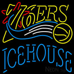 Icehouse Philadelphia 76ers NBA Neon Beer Sign