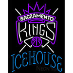 Icehouse Sacramento Kings NBA Neon Beer Sign
