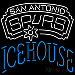 Icehouse San Antonio Spurs NBA Neon Beer Sign