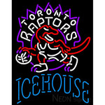 Icehouse Toronto Raptors NBA Neon Beer Sign