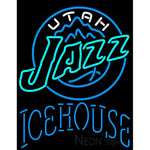 Icehouse Utah Jazz NBA Neon Beer Sign