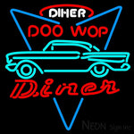 Incredible 1957 Chevy Doo Wop Diner Custom Neon Sign