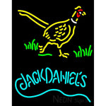 Jack Daniels And Pheasant  Logo Neon Sign
