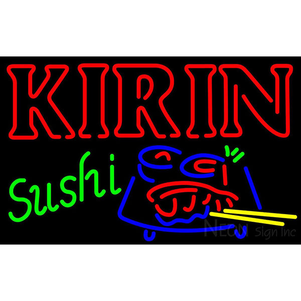 Kirin Beer And Sushi Neon Sign