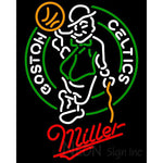 Miller Boston Celtics NBA Neon Sign