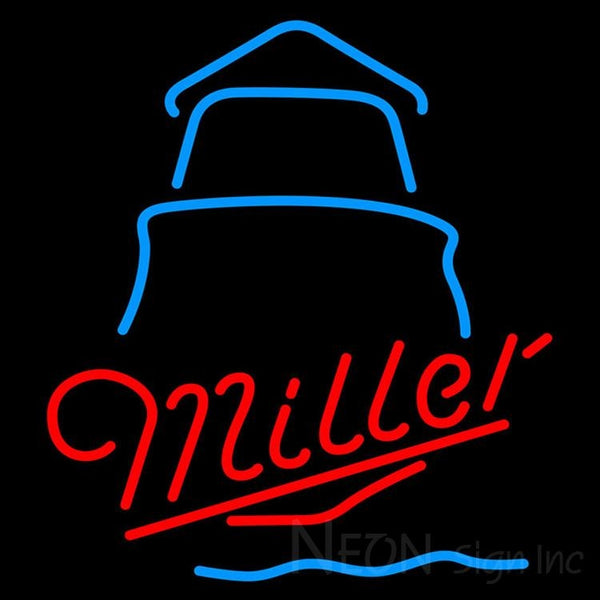 Miller Day Lighthouse Neon Sign 24x24