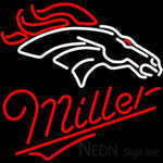 Miller Denver Broncos NFL Neon Sign
