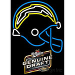 Miller Genuine Draft San Diego Chargers NFL Neon Sign 3 0014