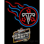 Miller Genuine Draft Tennessee Titans NFL Neon Sign 1 0017