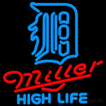 Miller High Life Detroit Tigers MLB Neon Sign 3 0012 16x16