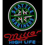 Miller High Life Seattle Mariners MLB Neon Sign 3 0014
