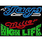 Miller High Life Toronto Blue Jays MLB Neon Sign 3 0015