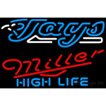 Miller High Life Toronto Blue Jays MLB Neon Sign 3 0017