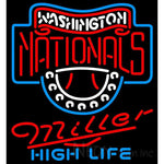 Miller High Life Washington Nationals MLB Neon Sign 3 0016