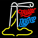 Miller Lite Lighthouse Neon Sign 16x16