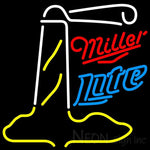 Miller Lite Lighthouse Neon Sign 24x24