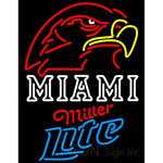 Miller Lite Neon Miami UNIVERSITY Fall Session Neon Sign 4 0024
