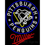 Miller Pittsburgh Penguins Neon Sign