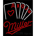 Miller Poker Series Neon Sign