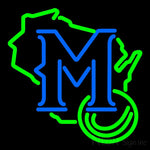Milwaukee Brewers Secondary 1997 Logo MLB 1 Neon Sign 16x16