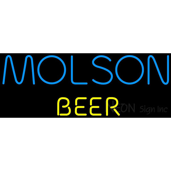 Molson Beer Neon Beer Sign