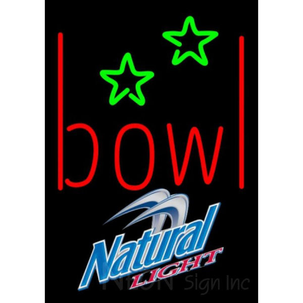 Natural Light Bowling Alley Neon Sign 9 0001