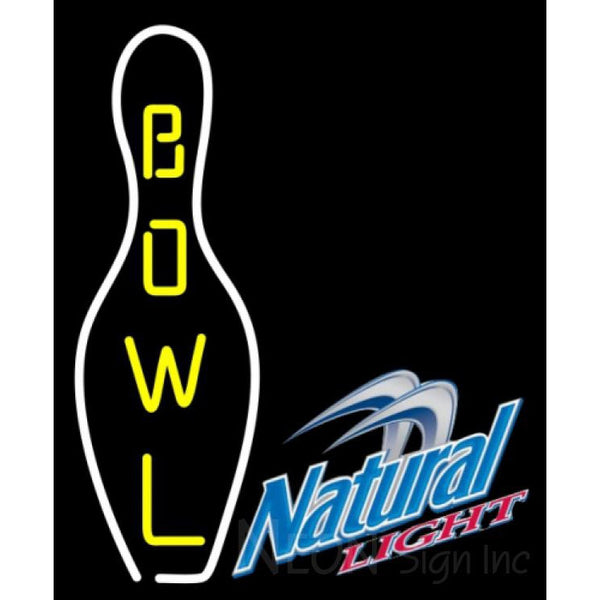 Natural Light Bowling Neon Sign 9 0003