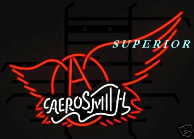 Aerosmith Neon Sign