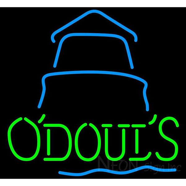 Odouls Day Lighthouse Neon Sign