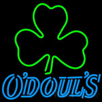 Odouls Green Clover Neon Sign