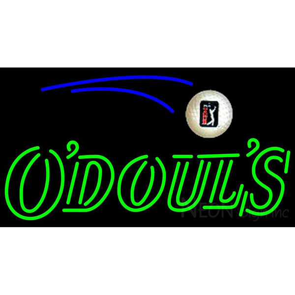 Odouls Pga Neon Beer Sign
