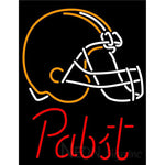 Pabst Cleveland Browns NFL Beer Neon Sign