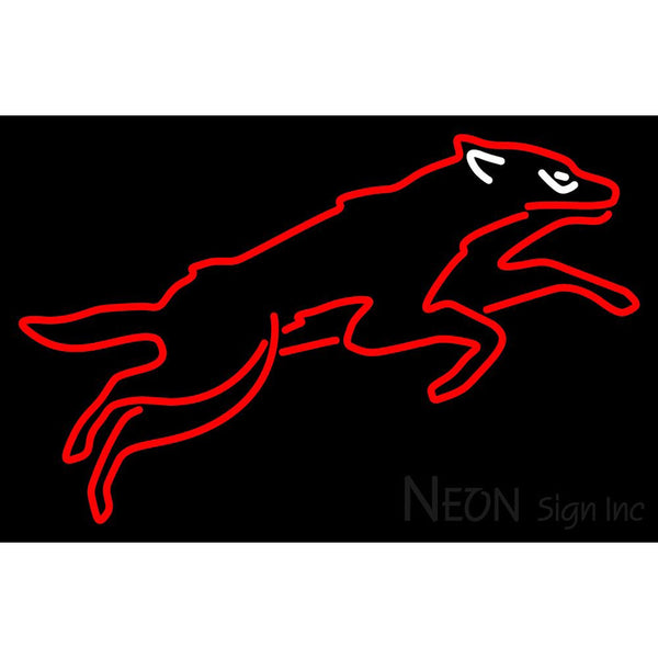 Phoenix Coyotes Alternate 2008 09 Pres Logo NHL Neon Sign