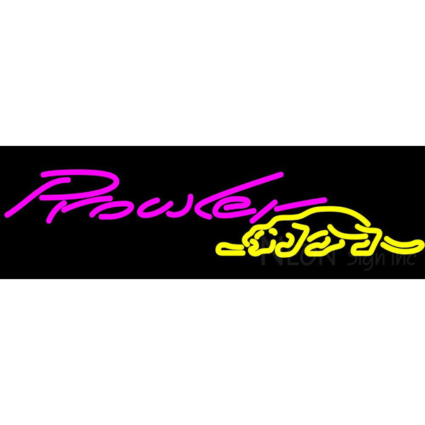 Plymouth Prowler Neon Sign