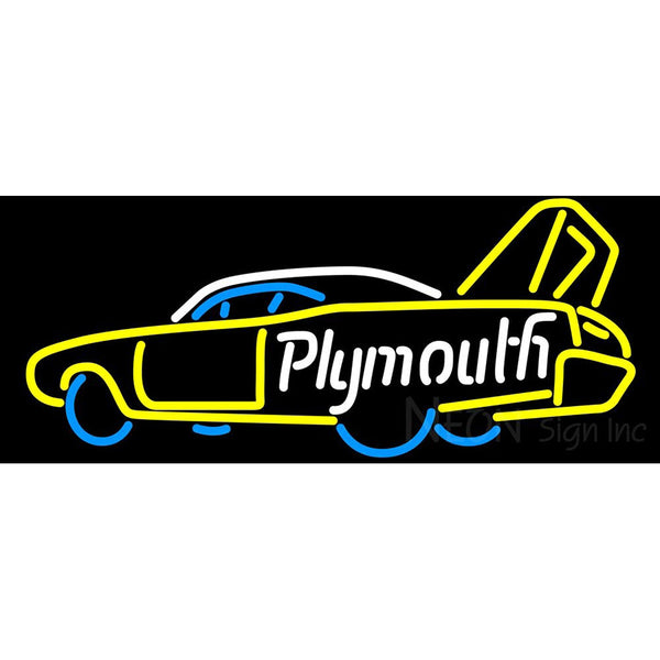 Plymouth Roadrunner Superbird Custom Neon Sign New
