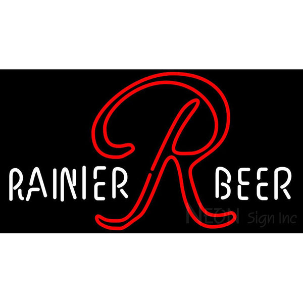 Rainier 1950s 1960s Bar Neon Beer Sign