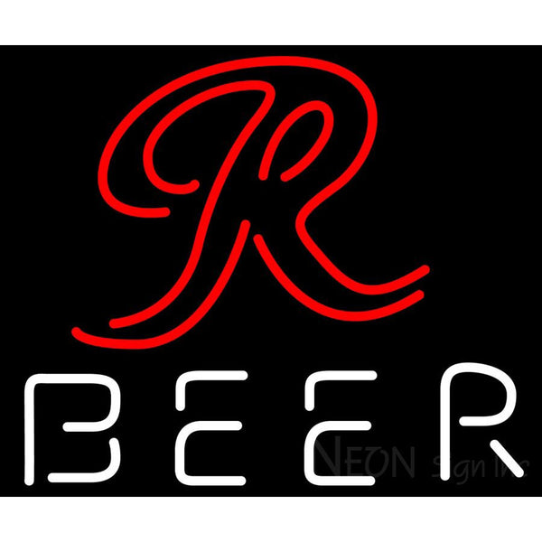 Rainier R Logo Neon Beer Sign 24x24