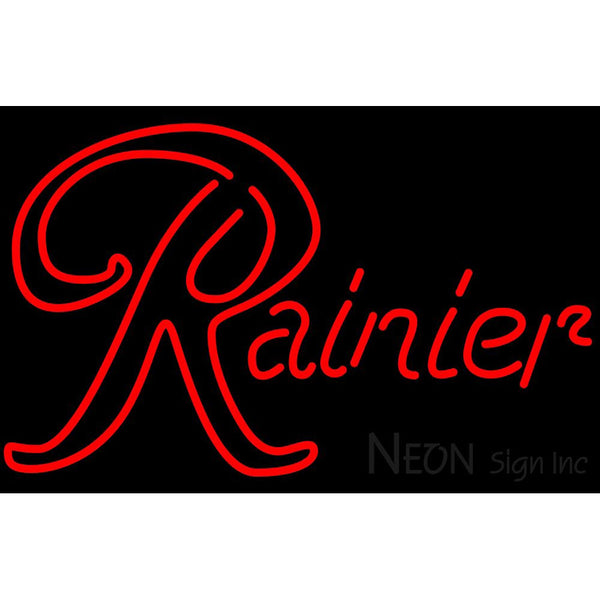 Rainier Red Neon Beer Sign