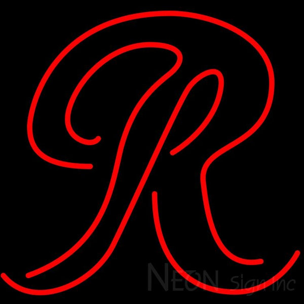 Rainier R Neon Beer Sign 24x20