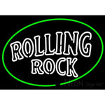Rolling Rock Classic Large Logo Neon Beer Sign