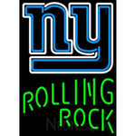 Rolling Rock Single Line New York Giants NFL Neon Sign 1 0026