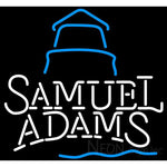 Samual Adams Day Lighthouse Neon Beer Sign